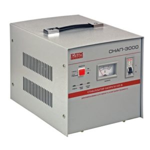 СНАП-3000 стабилизатор напряжения мощностью 3000 VA