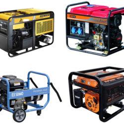 Дизельные генераторы (электростанции)