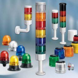 Сигнальные маячки и колонны